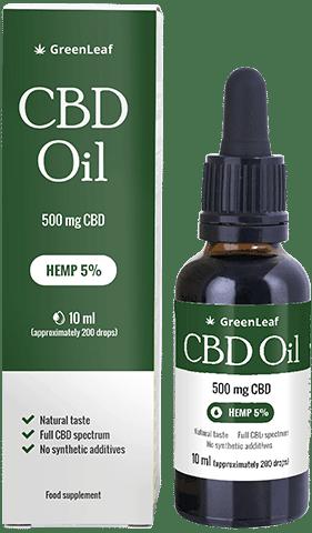 Acquistare Green Leaf CBD Oil in Italia